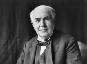 Foto Thomas Alva Edison