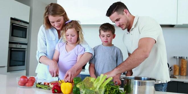 Ilustrasi pola hidup sehat