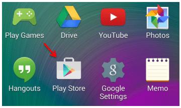 Ikon Google Play Store