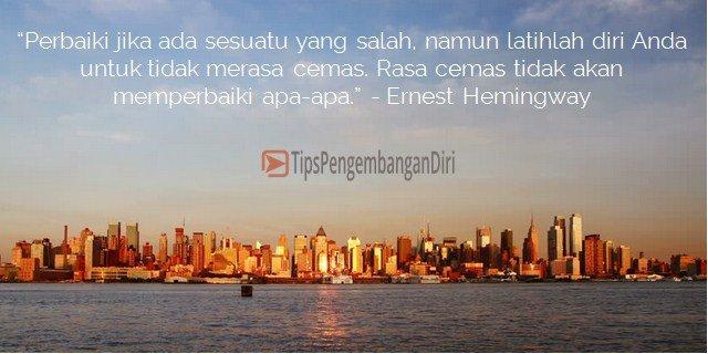 Kata motivasi Ernest Hemingway
