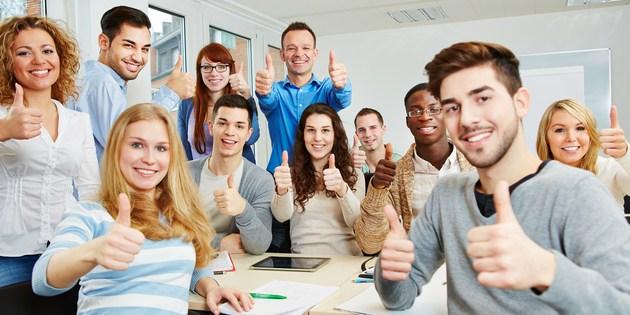 Ilustrasi teman kuliah