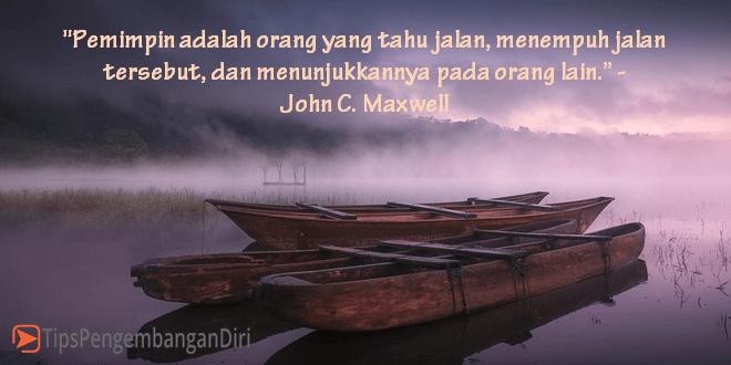Kutipan dari John Maxwell
