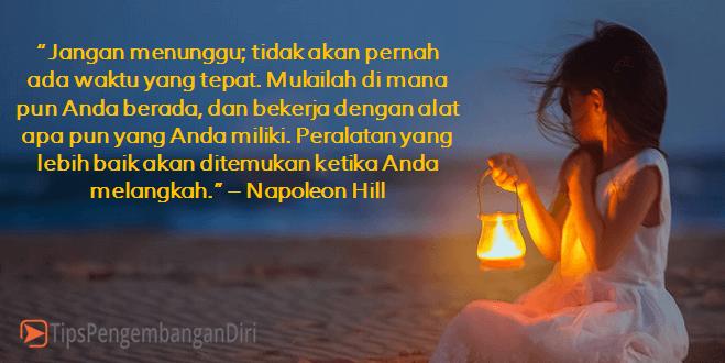 Kutipan motivasi Napoleon Hill