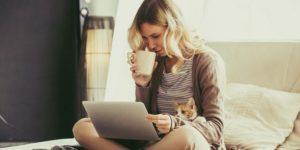 Ilustrasi ciri orang introvert