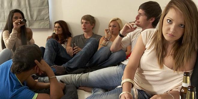 Ilustrasi pergaulan remaja