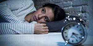 Ilustrasi mengatasi susah tidur