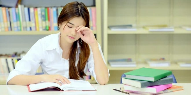 Ilustrasi ngantuk saat belajar