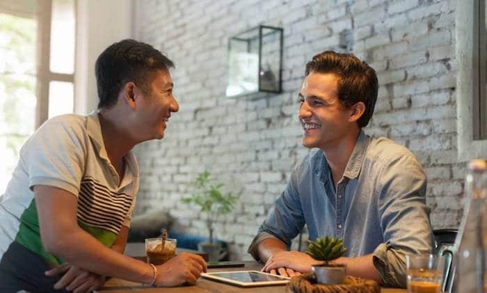 Ilustrasi memilih partner bisnis